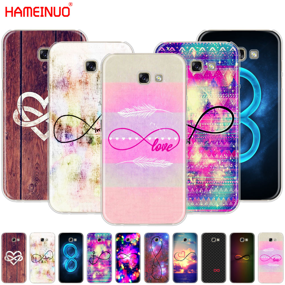 Infinity Symbol Mathematical Large Love Nebula Cell Phone Case Cover