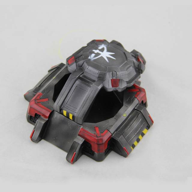 2016 New Garage Kits Starcraft Terran Bunker Model Ashtray With Lids Storge In Stock Wholesale 3