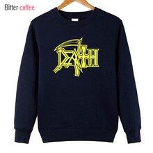Nieuwe Death Hoodies Rock Band Heavy Metal Hoodies Mannen Casual Ronde Hals Nieuwigheid Grappige Man Kleding Sweaters