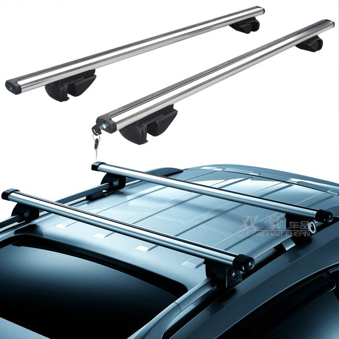 Genial Car SUV Van Universal Roof Top Luggage Carrier Roof Rack Cross Bars Rails .