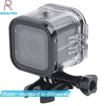 For Go Pro Session Waterproof Shell Case Underwater 60M Protection Housing Box For GoPro Hero 5 4 Session Accessories цена 2017