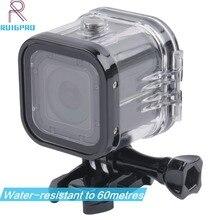 Voor Go Pro Sessie Waterdichte Shell Case Onderwater 60M Bescherming Huisvesting Doos Voor GoPro Hero 5 4 Sessie Accessoires
