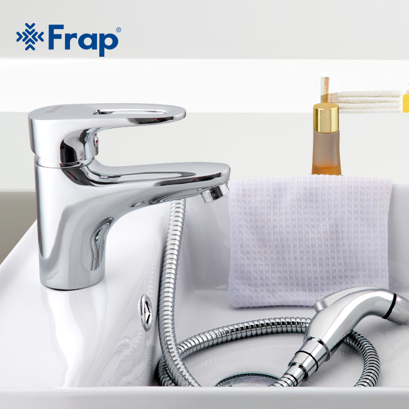 Frap Brass Body Material Bathroom Toilet taps With bidet faucet Contains installation accessories F1268