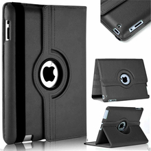 360 Degree Rotating PU Leather Stand Case For iPad mini 1 2 3 Leather Flip Cover Case for iPad mini 7.9