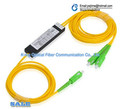 10PCS SC APC 1X2 PLC Singlemode Fiber Optical splitter FTTH PLC SCAPC 1x2 PLC optical fiber splitter FBT Optical Coupler