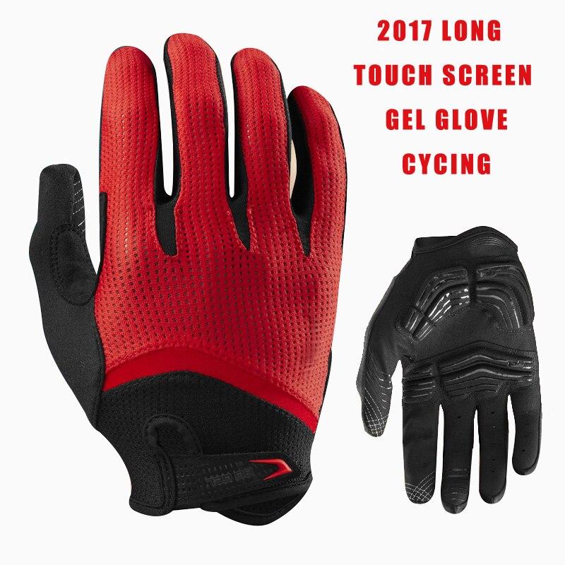 Prix pour FIRELION Long Doigt Gant de Cyclisme Gel Tactile Écran Vtt vélo Gants pour Homme VTT BMX DH Off Road Motocross gants