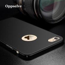 Oppselve Luxury Case For iPhone X 7 6 6s Plus Ultra Slim Capinhas Hard PC Cover Case For iPhone 7 6 S 6S Plus Coque Fundas Capa цена
