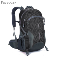 Facecozy Outdoor Hunting Travel Waterproof Backpack Men Women Camping Hiking Backpacks Big Capacity 40L Sports Bag