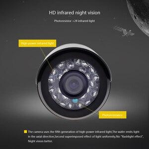 Image 5 - GADINAN Sistema de CCTV de Seguridad DVR, 4 canales, AHD, con 2 Uds., cámara CCTV opcional de 2MP y 1080P, Kit de cámara impermeable de videovigilancia