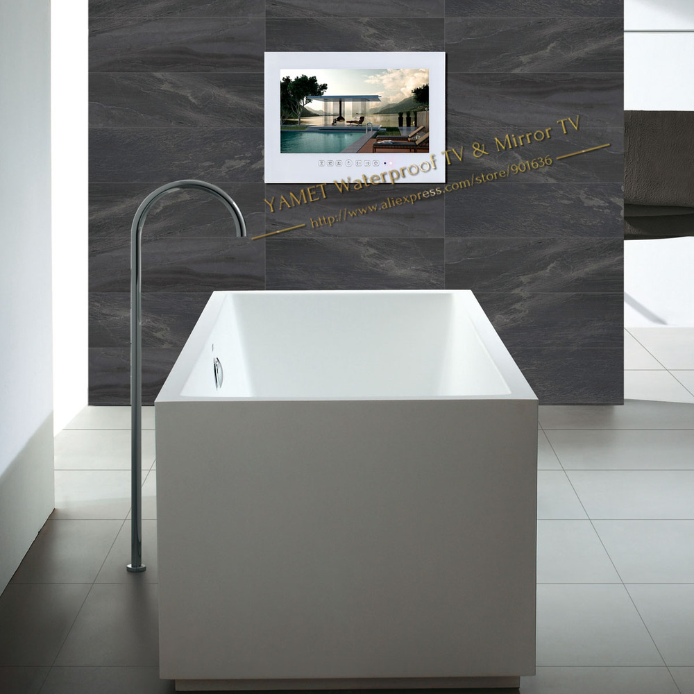 buy free shipping 22 inch wifi full hd 1080p bathroom tv internet tv waterproof tv mirror tv from reliable waterproof tv suppliers on yamet