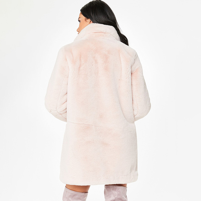 Thick Warm Faux Fur Jacket Female Overcoats