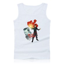 DOCTOR STRANGE Super Hero Plus Size Bodybuilding Tank Tops Men Sleeveless Shirts and Loose Summer Vests XXS 4XL