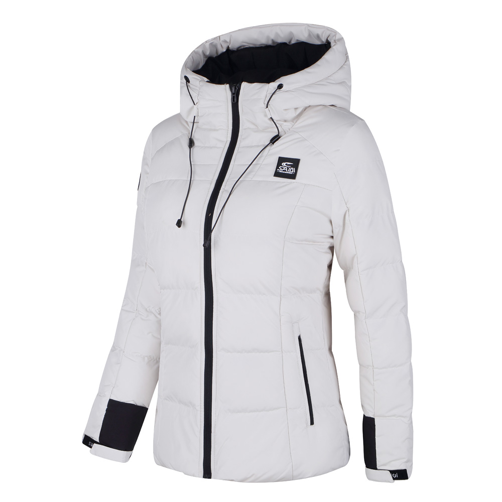 2018 New Warm Hiking Down jacket Warm Long Sleeve Women Winter Jacket Thick Cotton Coat Outwear 100% Polyester Soft Fabric Down new fashion warm winter spring jacket men long sleeve zippers olive green and navy outwear loose men pakas a3744