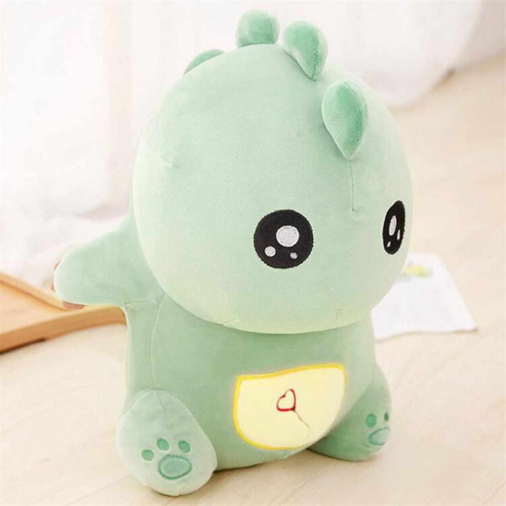 Chegam novas 30 CENTÍMETROS de Dinossauro Brinquedos De Pelúcia Kawaii Stuffed Animal Macio Boneca para Crianças Do Bebê Dos Miúdos Dos Desenhos Animados Presente Brinquedo Clássico 50