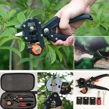 Профессиональный бытовой садовый набор инструментов для прививки фруктового дерева профессиональные секаторы набор режущих инструментов