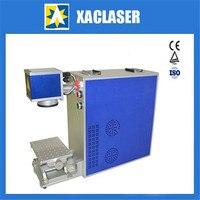 XAC laser-20W lasr máquina da marcação para aço inoxidável  placa de metal  folhas de alumínio  prata  ouro com preço mais baixo