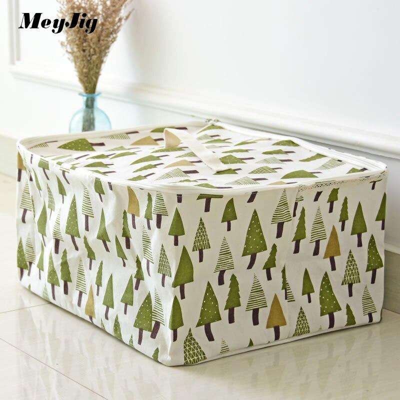 Meyjig Foldable Laundry Basket Rectangle Linen Sundries Storage Basket For Toy Washing Clothes Laundry Hamper Organizer Bag