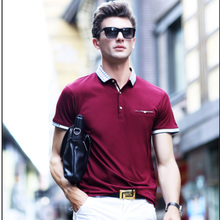 High Quality Business Dress Boss Pure Polo Shirts With Pocket Camisa Polos Homme Clothing Chemmise
