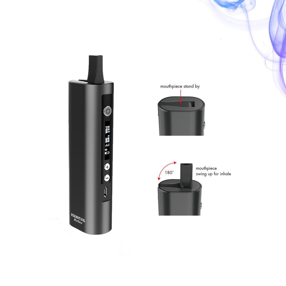 black dry herb vaporizer mod