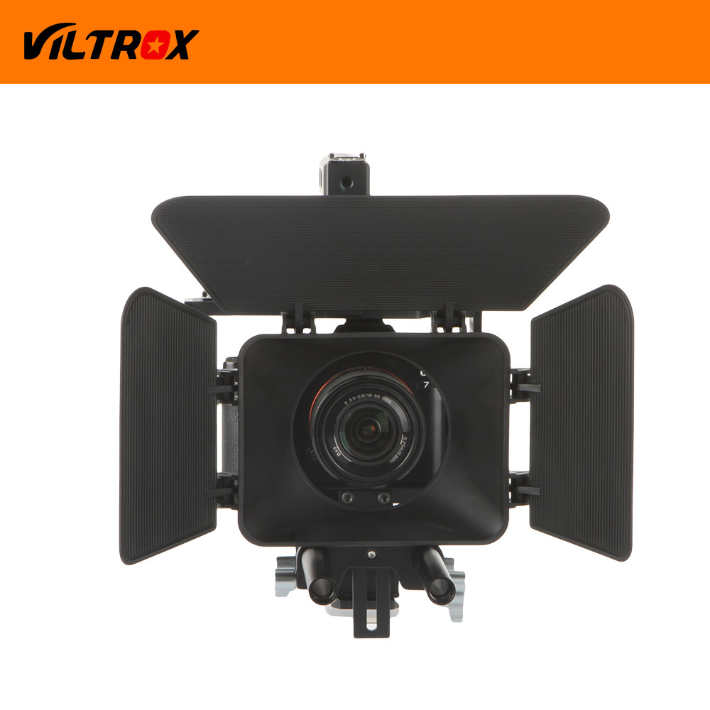 Viltrox DSLR Video Estabilizador de película Kit de 15 mm Barra de - Cámara y foto - foto 2