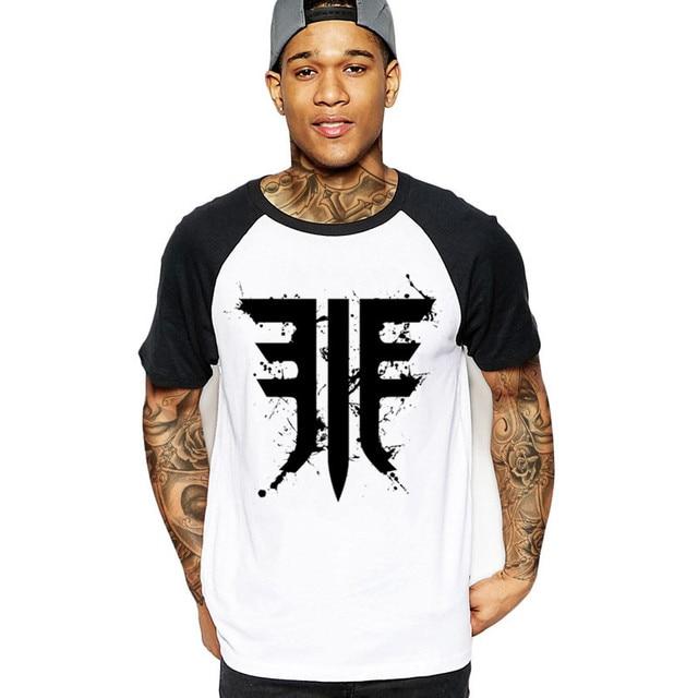189ef7d765e 2018 fashion Destiny 2 Forsaken Emblem Black Splats Men game T-Shirt hot  geek white black cotton camisetas male t-shirts tshirts