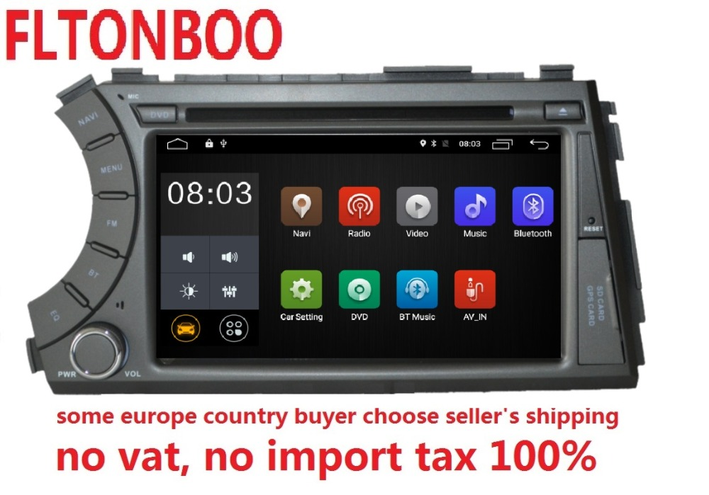 7 inch Android 7.1 for ssangyong Kyron Actyon 2din car dvd,gps wifi,radio,bluetooth,Steering wheel,free 8g map,mic,touch screen