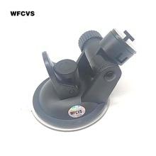 WFCVS Car DVR holder for Car Camera mount DVR holders Driving recorder suction cup Black Stands Holder Free shipping