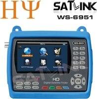 Satlink WS-6951 ЖК-дисплей Экран Цифровой спутниковый Finder жидкокристаллический дисплей Видеть большие изображения Satlink WS-6951 лучше, чем Satlink ws-6916
