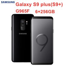 "Samsung Galaxy S9 Plus S9 + G965F 256GB ROM 6GB RAM Globale Version Original Handy LTE Octa core 6,2 ""Dual 12MP Exynos NFC(China)"