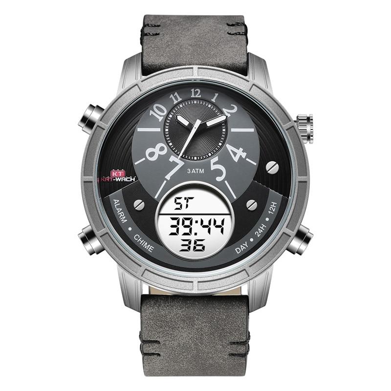 Brand KAT-WACH Watch Quartz Sports Digital Men Watches Fashion Male Military Wristwatch Relojioes Clock Masculino стоимость