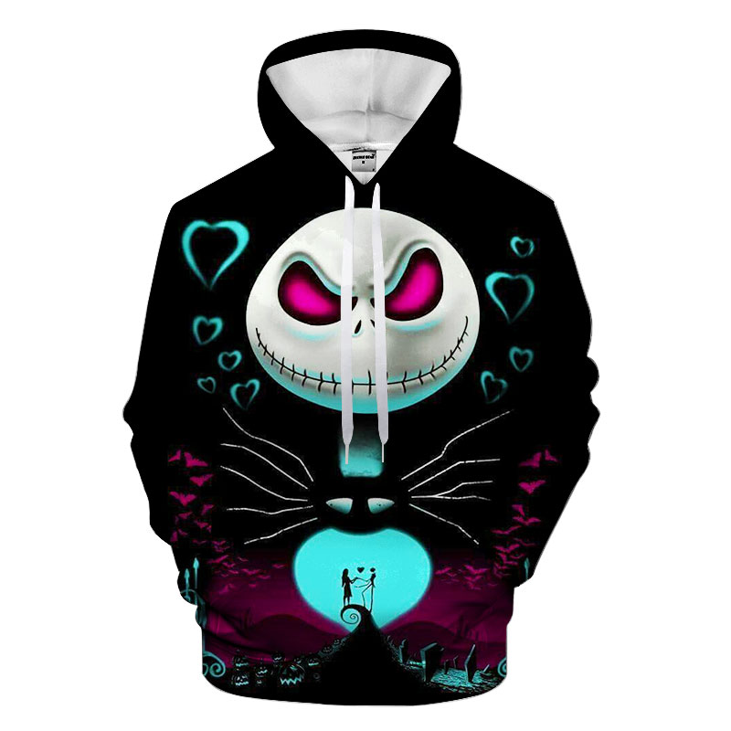 Christmas Geek Hoodies Hooded Unisex Hat 3D Sweatshirts Print Colorful