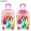19 zoll tragen-auf Koffer mit rädern kinder Spinner gepäck karton reise Roll Gepäck trolley taschen kinder koffer lovel