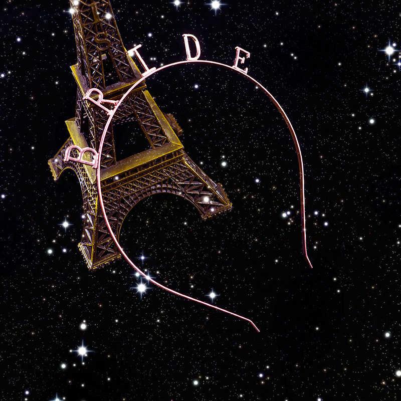 1 шт. Золотая Корона невесты из розового золота девичник украшения для вечеринки