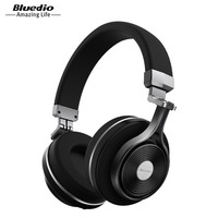 Bluedio T3 Wireless Bluetooth 4 1 Stereo Headphones With Mic Micro SD Card Slot Black