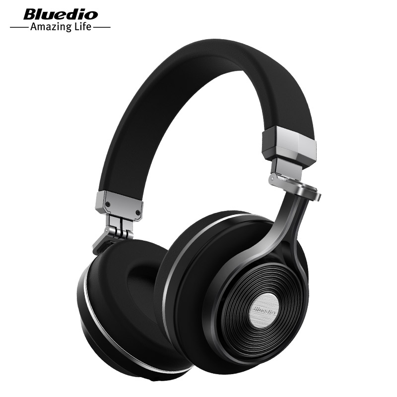 Bluedio T3  Wireless Bluetooth  Headphones/headset with microphone for music wireless earphone bluedio t4 original wireless headphones portable bluetooth headset with microphone for iphone htc samsung xiaomi music earphone