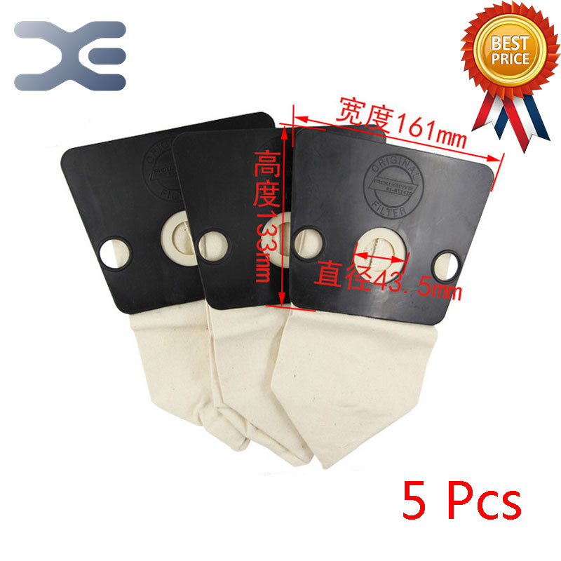 5Pcs High Quality Vacuum Cleaner Accessories Dust Bag Garbage Bag Bag ZR486 / 480 / RO121 / RO461 high quality compatible with for sanyo vacuum cleaner accessories dust bag bag sc s280 y120 33a s280