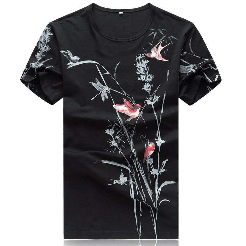 Free shipping plus size t shirt cotton print 3d t shirt Casual mens t shirt men Large fat funny t shi short-sleeve t-shirt 5xl