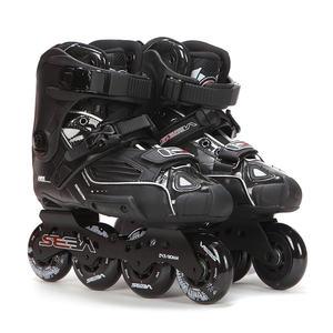 Image 2 - اليابانية سكيت 100% الأصلي سيبا عالية ديلوكس HD الكبار حذاء تزلج بعجلات الأسود الأسطوانة أحذية التزلج Slalom الشريحة FSK Patines الكبار