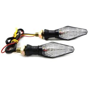 Image 3 - 2 pièces 12 LED Moto clignotant lumières Moto Signal lampe pour Yamaha FJ 09/MT09 traceur MT10 MT03 YZF R25 YZF R3 FZ1 FAZER Fazer
