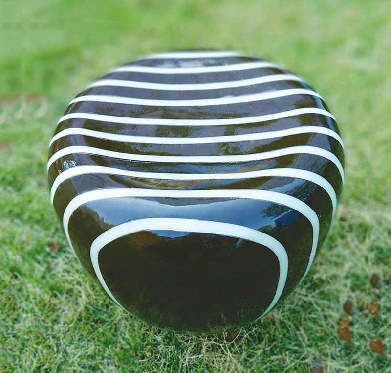 natural luz do jardim da resina, imitação de pedra gramado luz