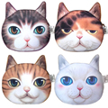 High Quality Animal Face Zipper Case Women Money Storage Pouch Coin Wallets Female Makeup Buggy Bags Coin Purses