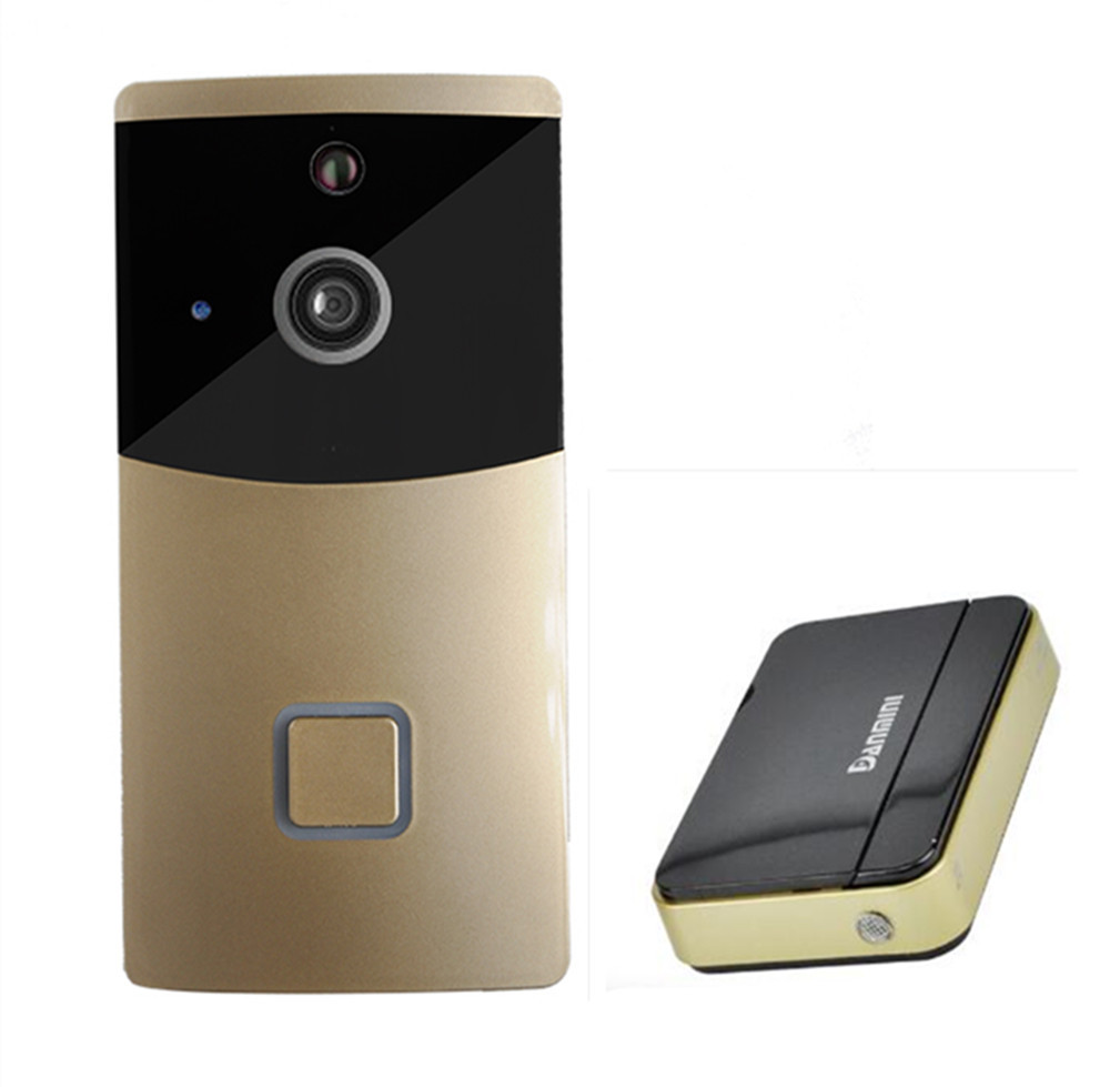 APP Remote Control 720P Build-in Battery Wifi Doorbell Intercom System APP Remote Control 720P Build-in Battery Wifi Doorbell Intercom System