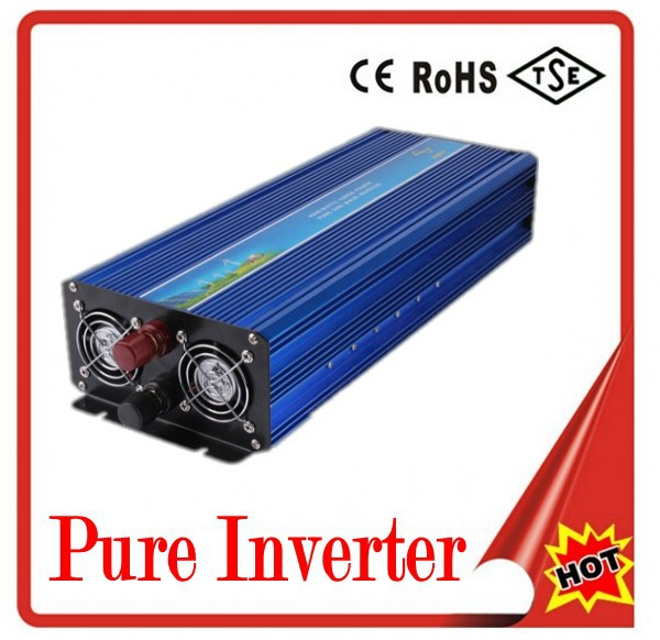 amandla Converter Digital Display 5000W Peak 2500W Pure Sine Wave Power Inverter Converter 12V DC to 220V / 230V / 240V AC