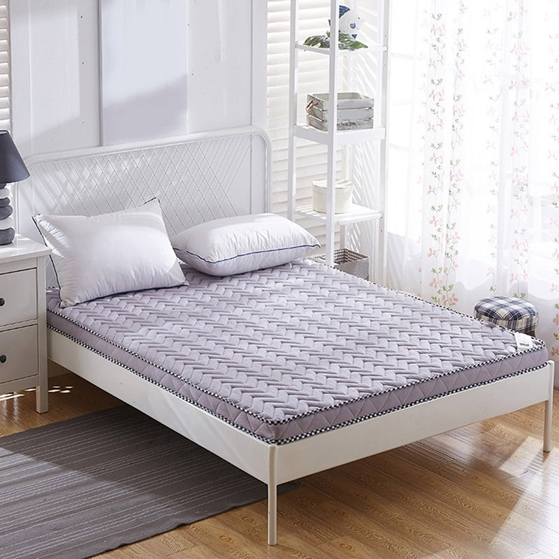 Foldable Mattress Bedroom Thicken Warmer Bed Furniture Sleeping Pad Home Furniture Bed Mat Cushion Bedroom Mattress Bedding rockies single183cm x 55cm r3 8 thermal resistance watetproof cushion sleeping mattress pad air bed