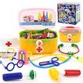 28 Unids/set Niños Botiquín Médico Juego Conjunto Kit de Material Médico de Juguete De Plástico Juguetes Educativos para Niños de Regalo