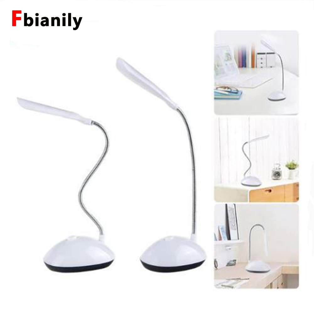 Mini 4 LED Reading Eye Protection LED Desk Lamp Power Mini Flexible Battery Powered Led Foldable Table Light Lamp For Study