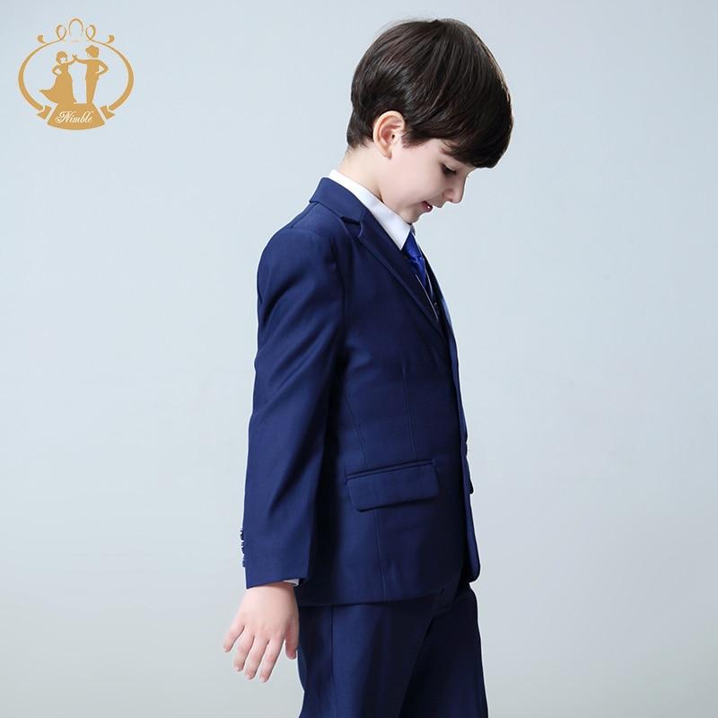 Oğlanlar Forml kostyumu Enfant Garcon Mariage Oğlanlar Toylar - Uşaq geyimləri - Fotoqrafiya 2