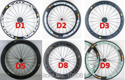 New 700C 38 50 60 88mm Road bike 3K UD 12K full carbon fibre bicycle wheelset carbon tubular clincher tubeless rims Free ship