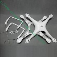 95% Genuine Shell Superior Inferior Substituição Shell para Drone DJI Fantasma 4 Pro Obsidiana Acessórios de Reparação