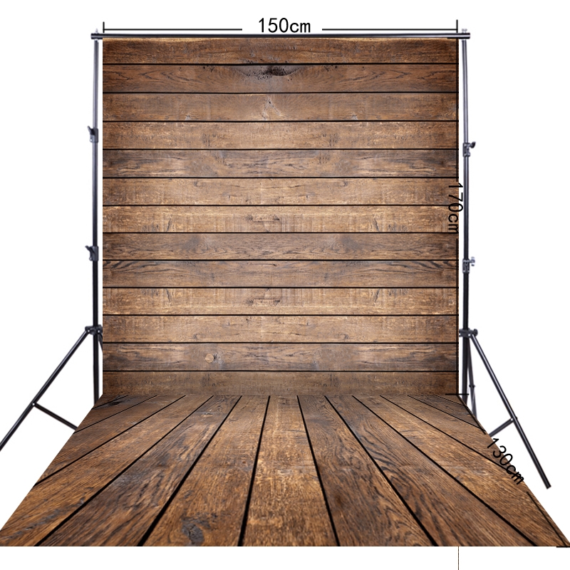 5x10ft(150*300cm) Brown Wood Floor Photography Background For Cloth Photograph FF-044 шапка носок les ff fold brown